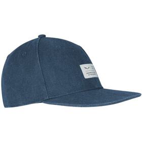 SALEWA Puez Canvas Flat Gorra, dark denim